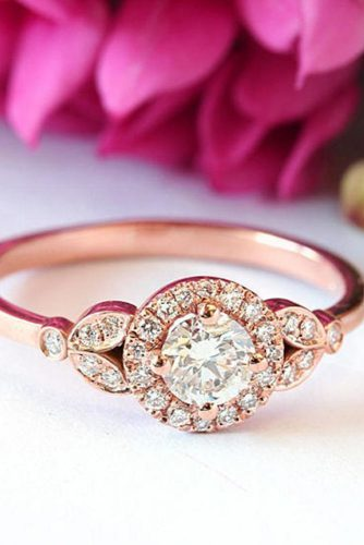 Luxurious Rose Gold Engagement Rings picture 2