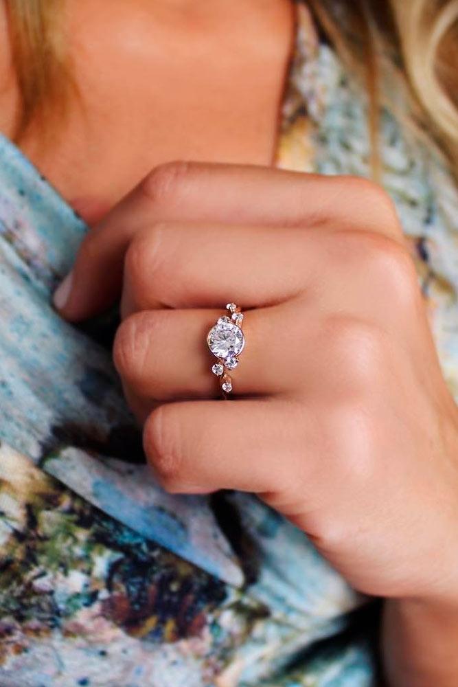 Romantic Diamond Engagement Rings picture 1