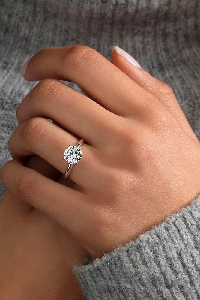 Romantic Diamond Engagement Rings picture 2