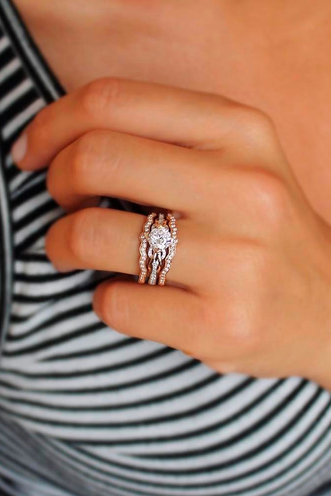 Romantic Diamond Engagement Rings picture 3