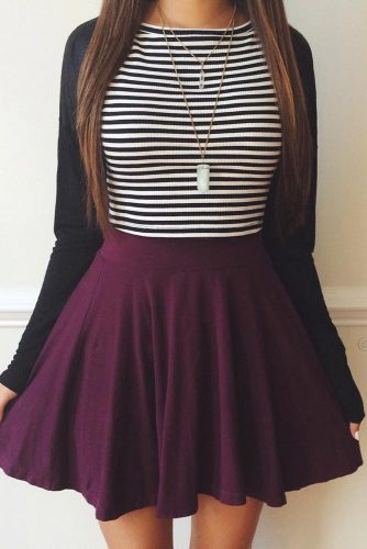 Back to School Outfit Ideas with Skirts picture 1
