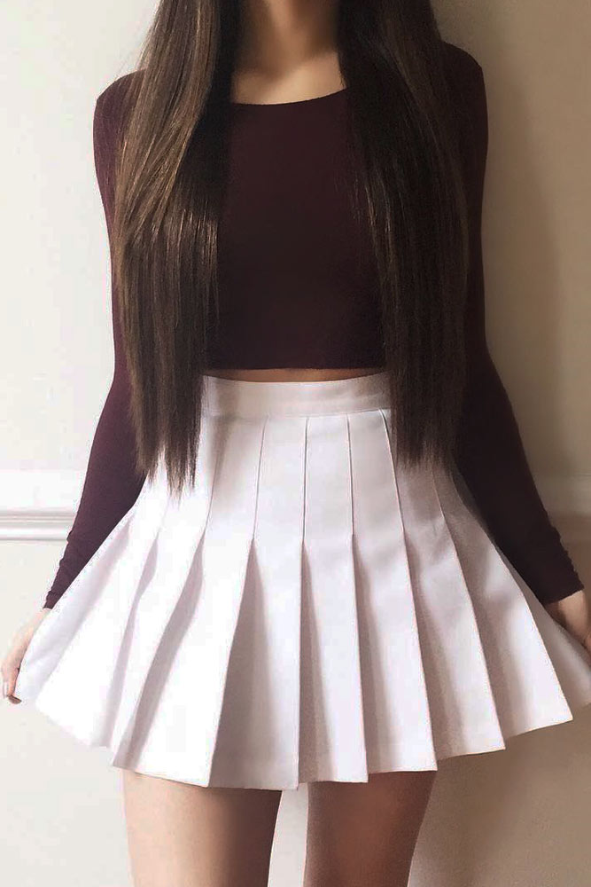 Back to School Outfit Ideas with Skirts picture 3