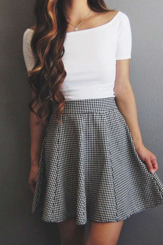 Back to School Outfit Ideas with Skirts picture 2
