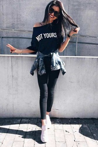 Comfy Back To School Outfits #comfyoutfits