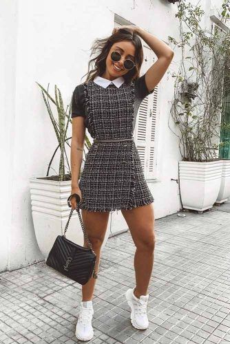 Dress With Sneakers #dress