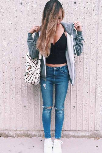 New Comfy Back to School Outfit Ideas picture 6