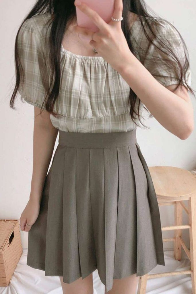 Skirt Outfits With Top