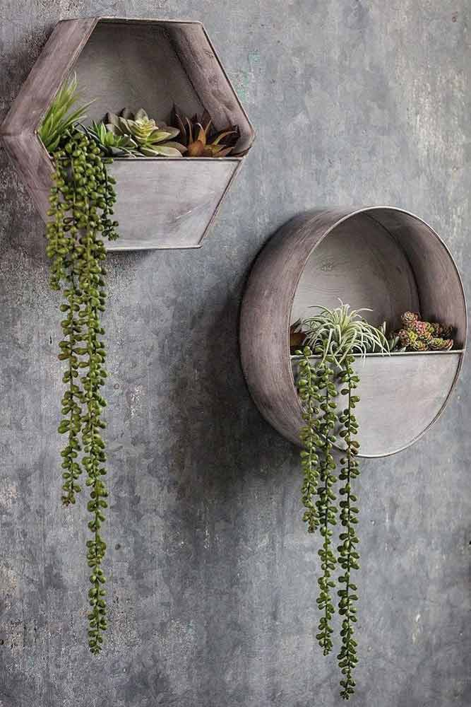Geometric Plants Holders For Wall Decor #plantsholder