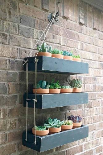 Rustic Shelves as Wall Decorating picture 2
