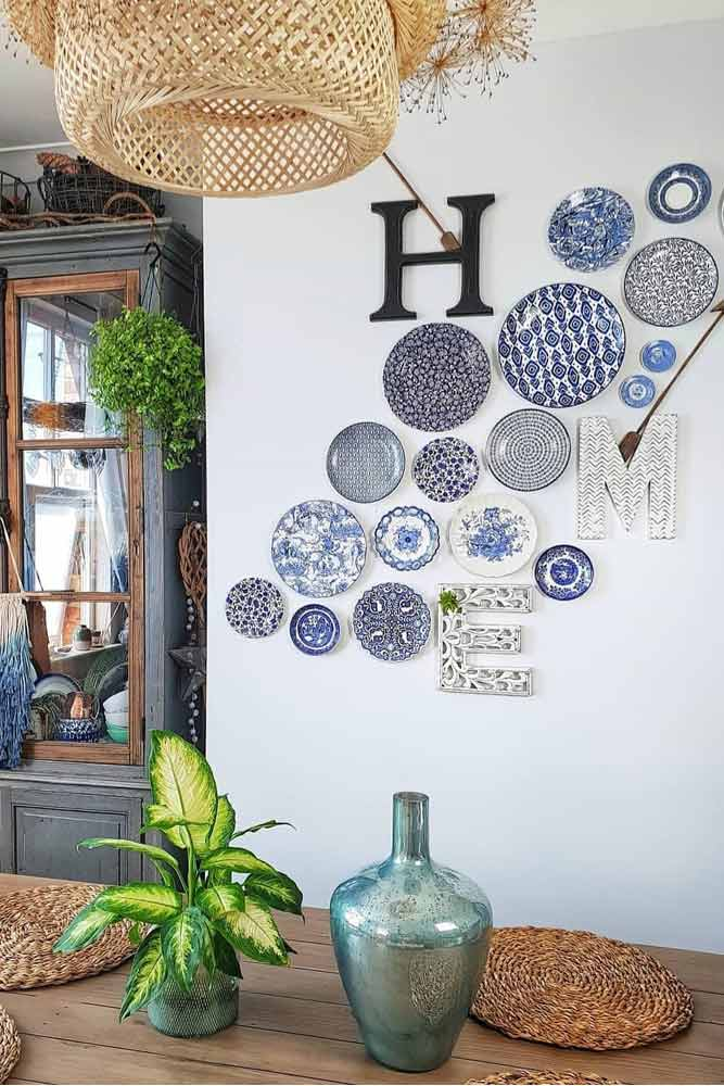 Painted Plates For Wall Decor #plates #bohodecor