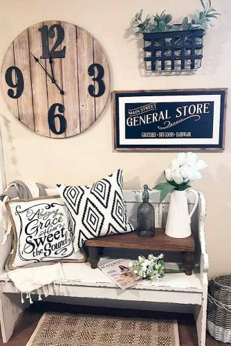 Ideas of Decorating with Clocks picture 1