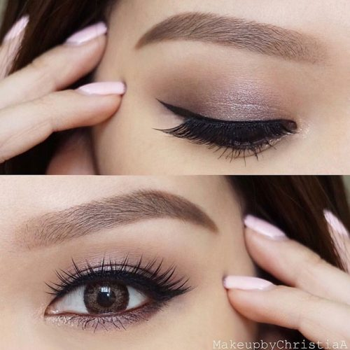Eye Makeup Looks for Monolid and Round Eye Shapes picture 2
