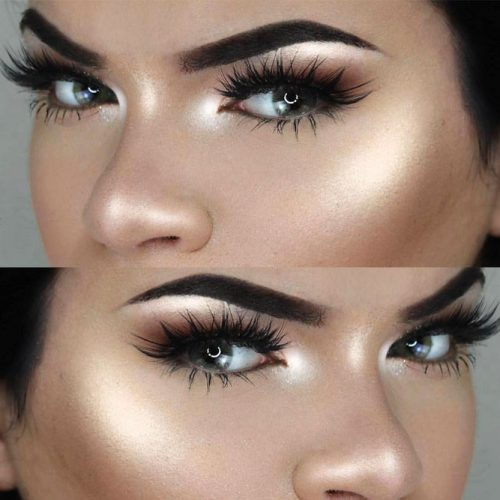 Eyes Makeup for Hooded and Wide Set Eye Shapes picture 1