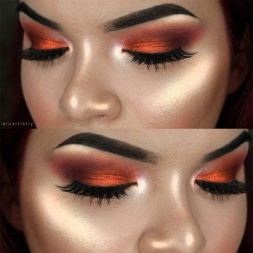Eyes Makeup for Hooded and Wide Set Eye Shapes picture 2
