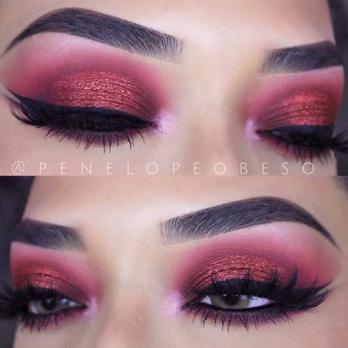 Eyes Makeup for Hooded and Wide Set Eye Shapes picture 4