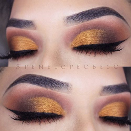 Eyes Makeup for Hooded and Wide Set Eye Shapes picture 5