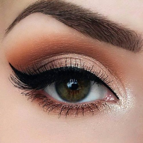 Cool Makeup Ideas for Round Eye Shape picture 1