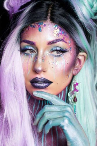 Incredible Unicorn Makeup picture6
