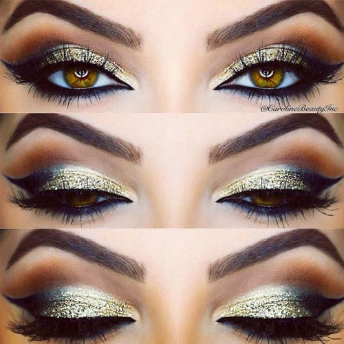 Stunning Makeup Ideas for Light Brown Eyes picture 3
