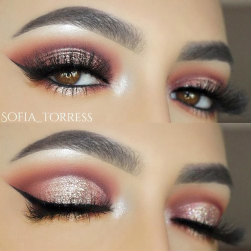 Stunning Makeup Ideas for Light Brown Eyes picture 6