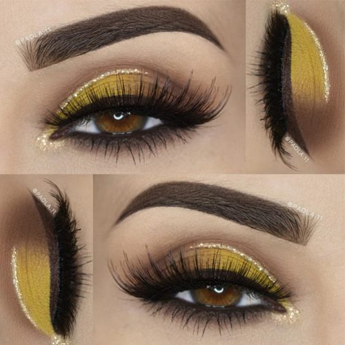 Stunning Makeup Ideas for Light Brown Eyes picture 2