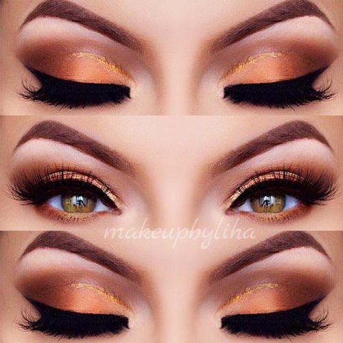Pretty Makeup Ideas for Light Brown Eyes picture 1