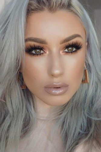 Beautiful Makeup Looks For Girls with Light Brown Eyes picture 2
