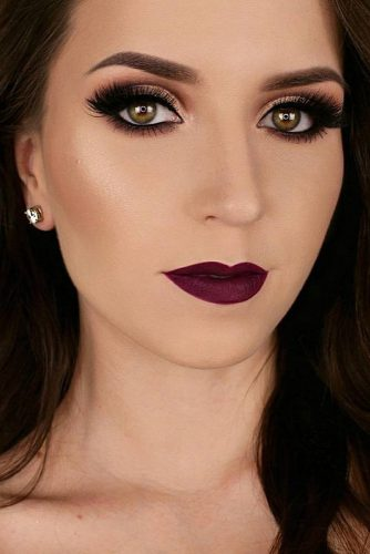 Beautiful Makeup Looks For Girls with Light Brown Eyes picture 4