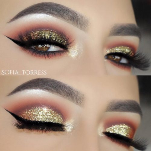 Pretty Makeup Ideas for Light Brown Eyes picture 4