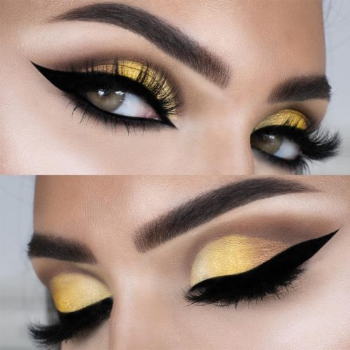 Pretty Makeup Ideas for Light Brown Eyes picture 3