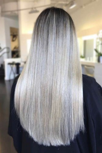 Stylish Look with Blunt Long Hair Cut picture 4