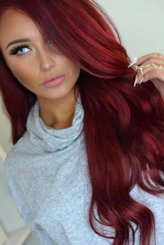 Fabulous Red Hair Color picture 2