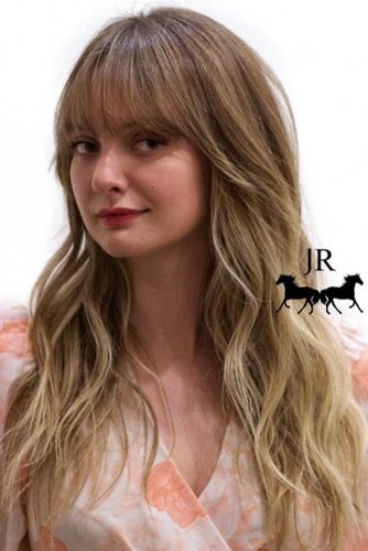 Fancy Short Bangs for Long Hair picture 3