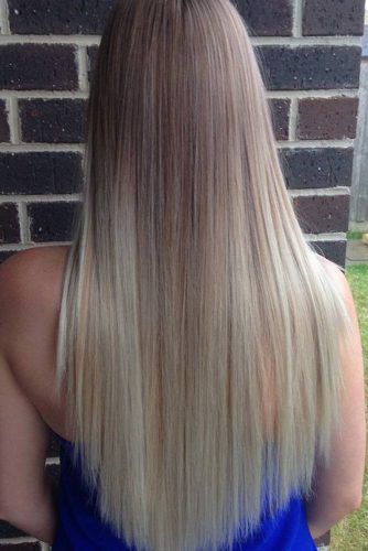 Lovely Straight Long Hair Hairstyle picture 6