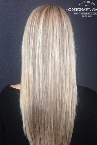 Lovely Straight Long Hair Hairstyle picture 2