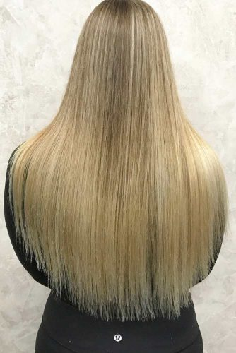 Lovely Straight Long Hair Hairstyle picture 1