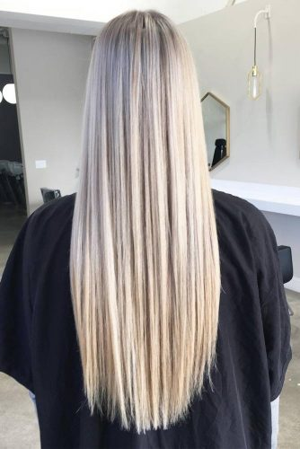 Lovely Straight Long Hair Hairstyle picture 5