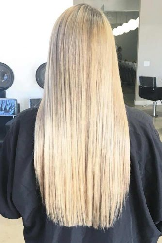 Lovely Straight Long Hair Hairstyle picture 4