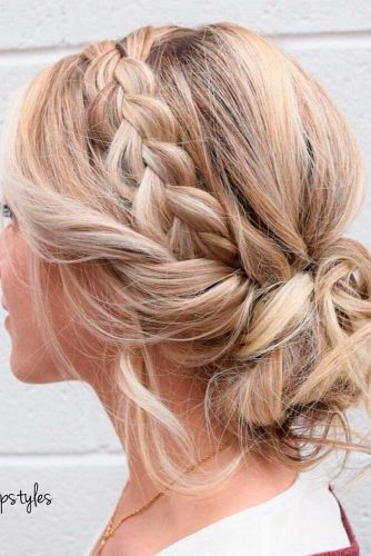 Stylish Low Buns and Top Knots picture 6