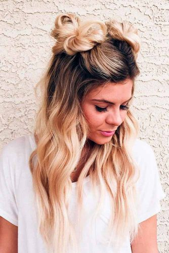 Two Top Knot Buns for Summer Fun picture 3