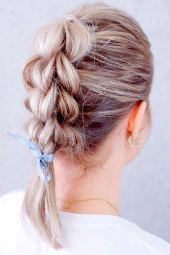 Pretty Braid #braidedhairstyles #prettyhairstyles