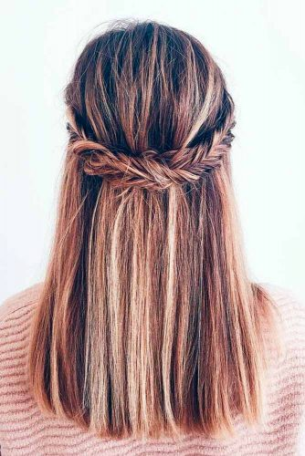 Cute Hairstyles for Sweety and Romantic Look picture 3