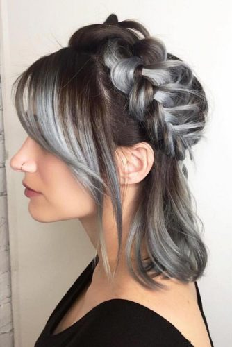 Sweet Hairstyles with Bangs picture 1