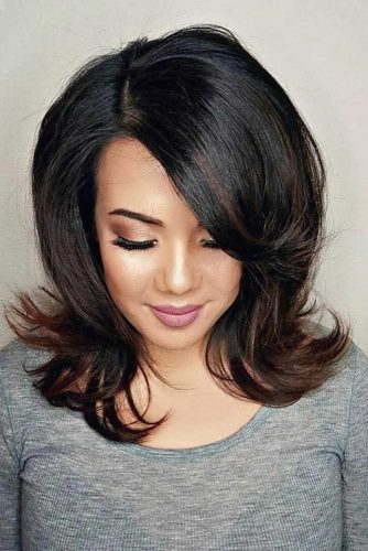 Sweet Hairstyles with Bangs picture 4
