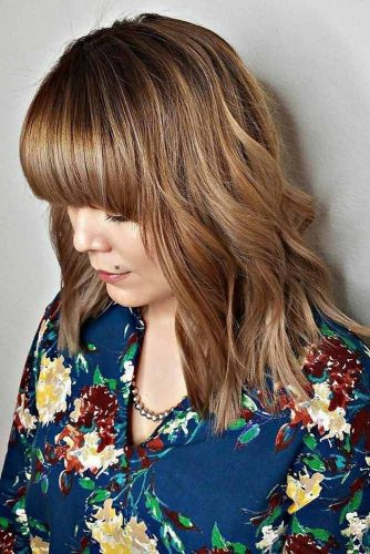 Sweet Hairstyles with Bangs picture 5