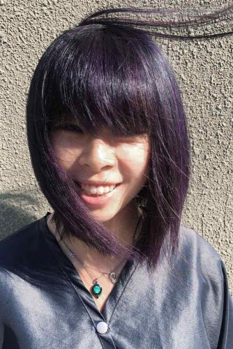 Sweet Hairstyles with Bangs picture 6