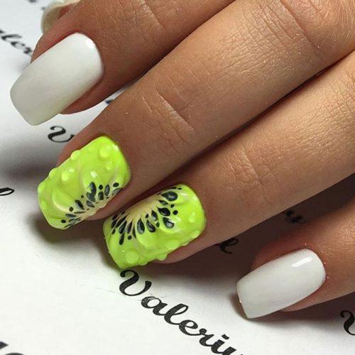 Kiwifruit paint