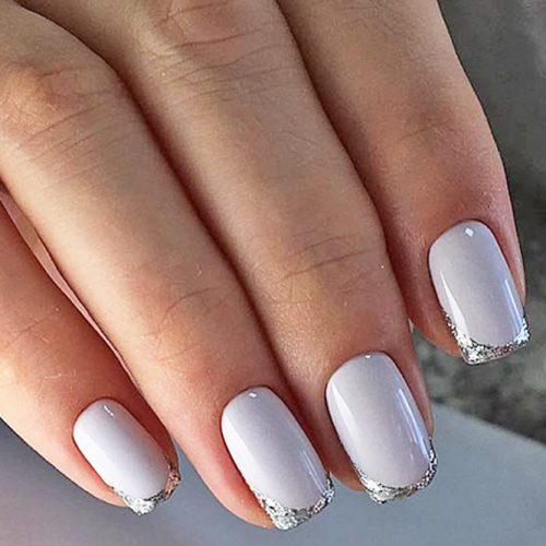 Glittery Mani