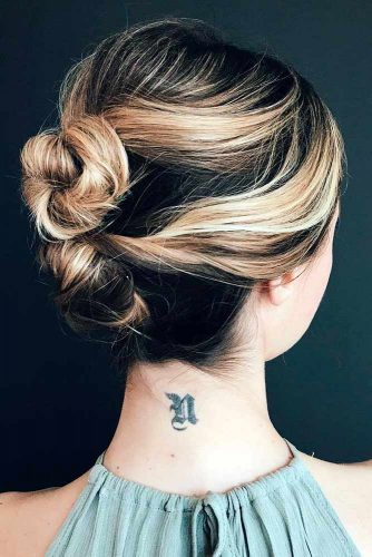 Cute Top Knots and Buns picture 6