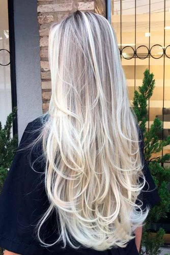 2. Long Ombre Layers